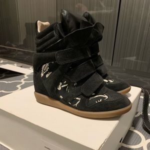 Isabel Marant Hawaiian Wedge Sneakers